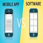 Mobile App VS Software